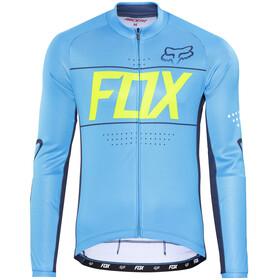 Fox Ascent Bike Jersey Longsleeve Men blue